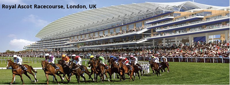 Royal Ascot Racecourse, London