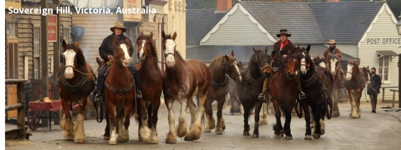 Sovereign Hill, Victoria, Australia